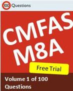 CMFAS M8A Trial Exam of 15 questions. Free to try!